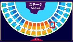 ワンピース・プレミアショー2012席