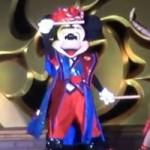 ディズニー夏祭りのミッキーマウス