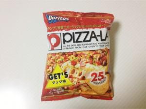 コラボのお菓子:PIZZA-LA