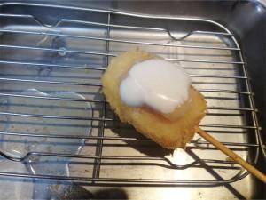 チーズケーキ串カツ~ヤクルトホイップのせ~