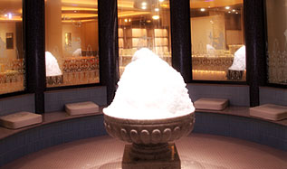 みずきの湯の岩盤浴「雪華房」