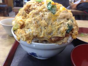 大力食堂のかつ丼(大)1