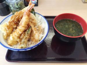 海老天丼390円