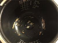 ハゲハゲの炊飯器