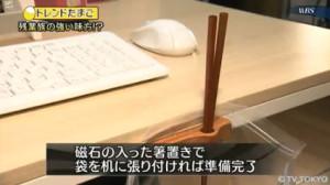ポテチ箸ホルダーをセット