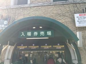 中央特別自由席2000円