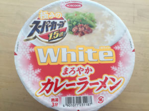 ホワイトまろやかカレーラーメン