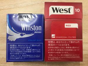 ウインストンミニとウエスト