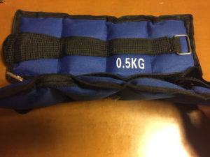 パワーアンクル0.5kg×2