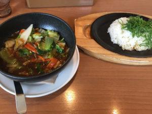 中華海鮮あんかけご飯
