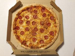 デカいピザ
