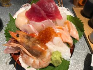 鮮魚のパフェ