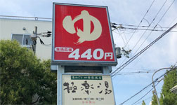 440円のスーパー銭湯