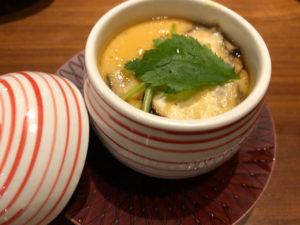 モッツアレラチーズの茶碗蒸し