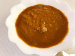 ハバネロカレーを食べる