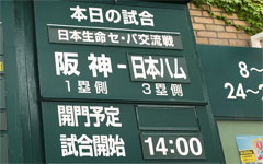 2019.6.8阪神vs日ハム