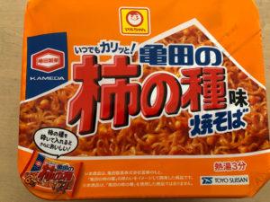 亀田の柿の種味焼きそば