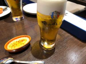 俺のフレンチでビール