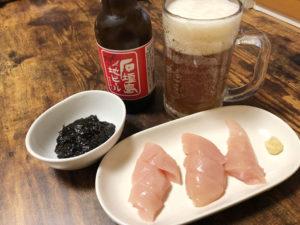 石垣島地ビールとおつまみ