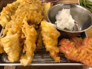 7種天ぷら盛り合わせ